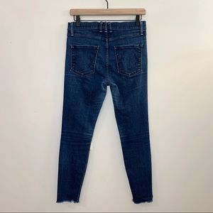 McGuire Denim Jeans - McGUIRE Newton High Rise Cropped Skinny Jeans